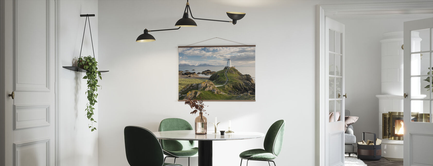 Llanddwyn Island Lighthouse - Poster - Kitchen
