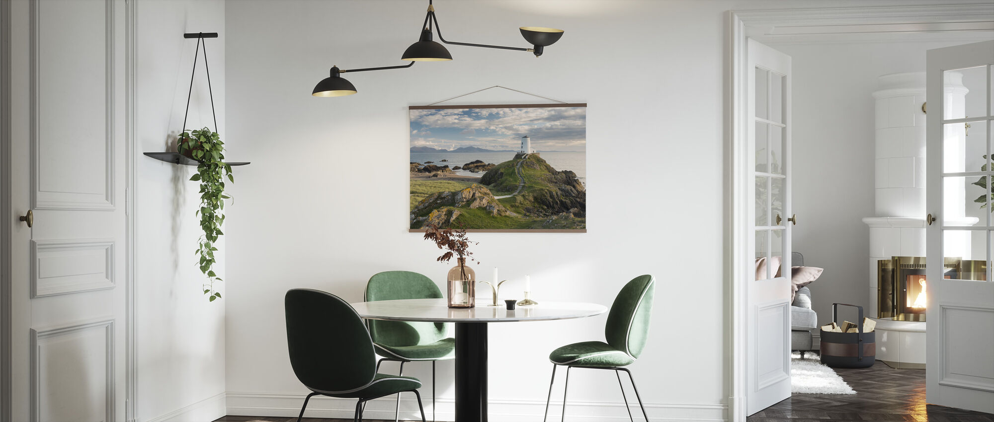Llanddwyn Island Lighthouse - Poster - Keuken