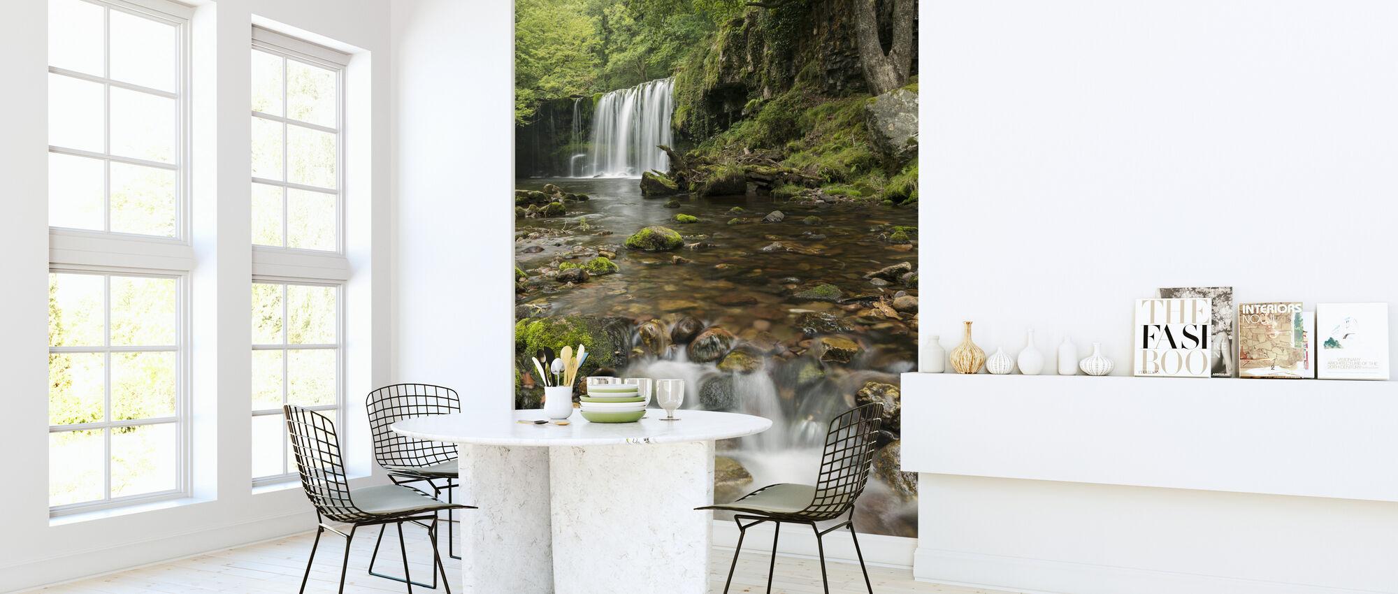 Clear Water Stream - Wallpaper - Kitchen