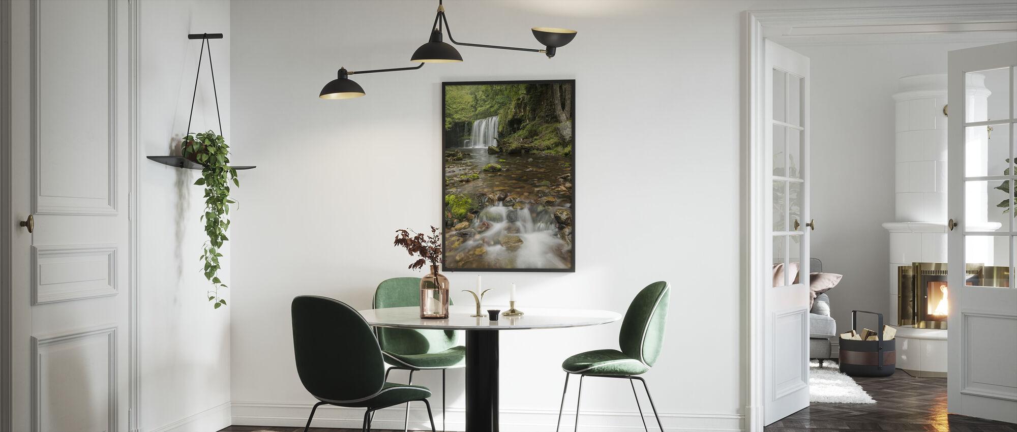 Clear Water Stream - Framed print - Kitchen