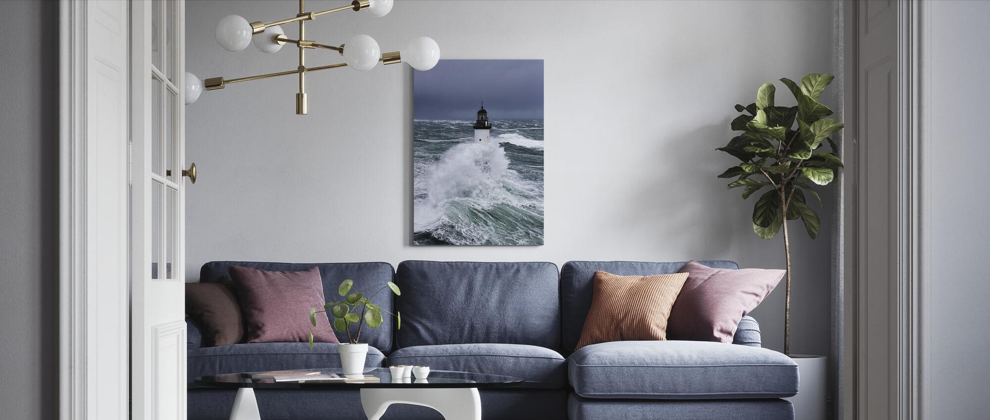 Awash - Canvas print - Living Room