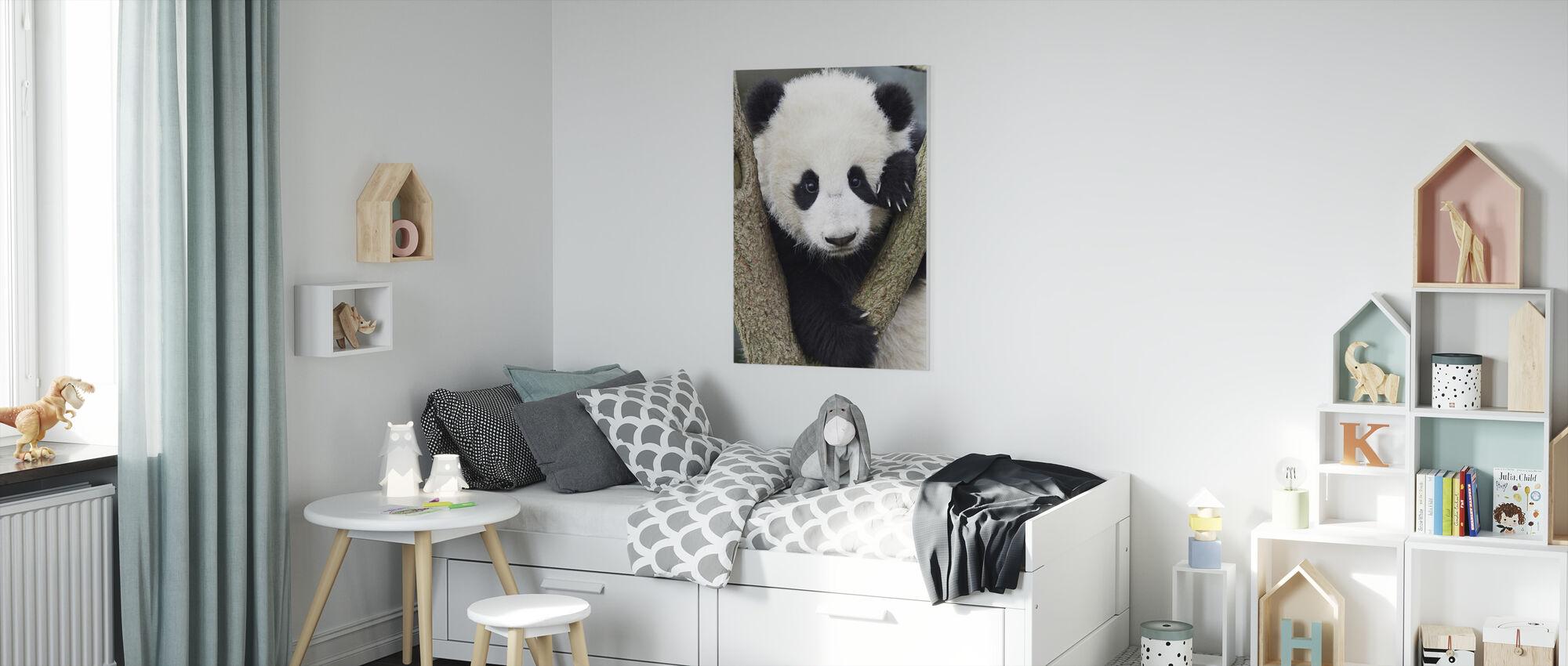 Giant Panda Cub - Canvas print - Kids Room