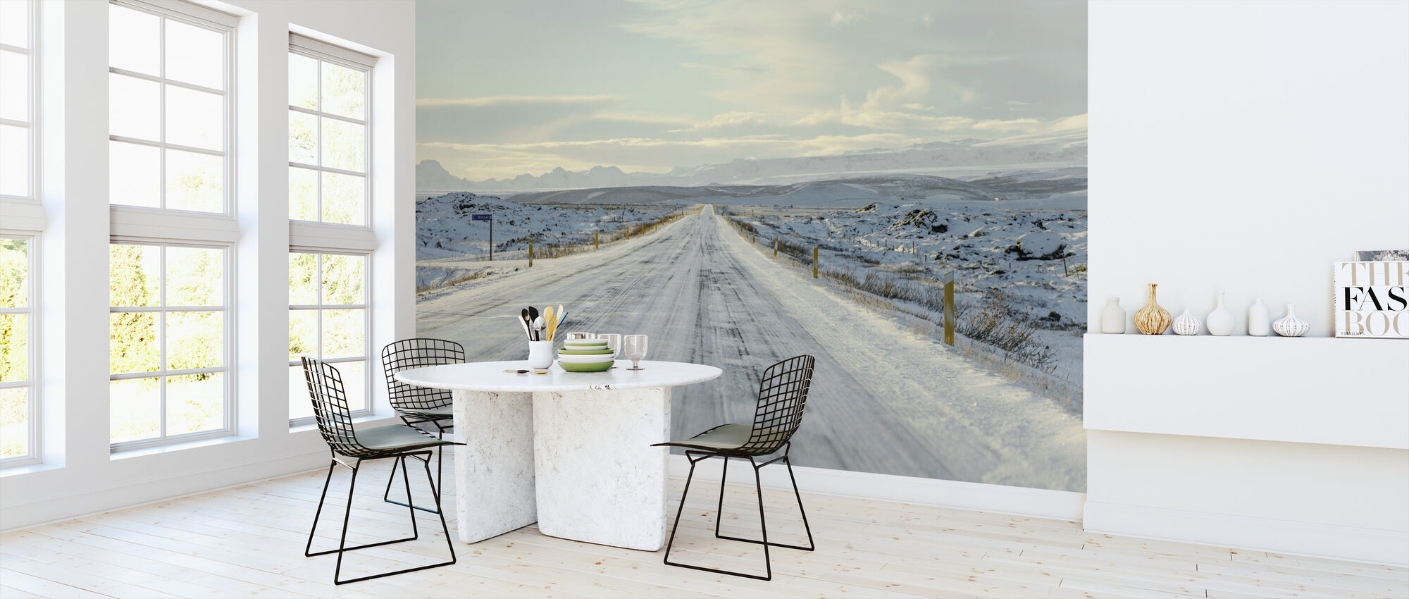 Iceland Route 1 - Wallpaper - Kitchen