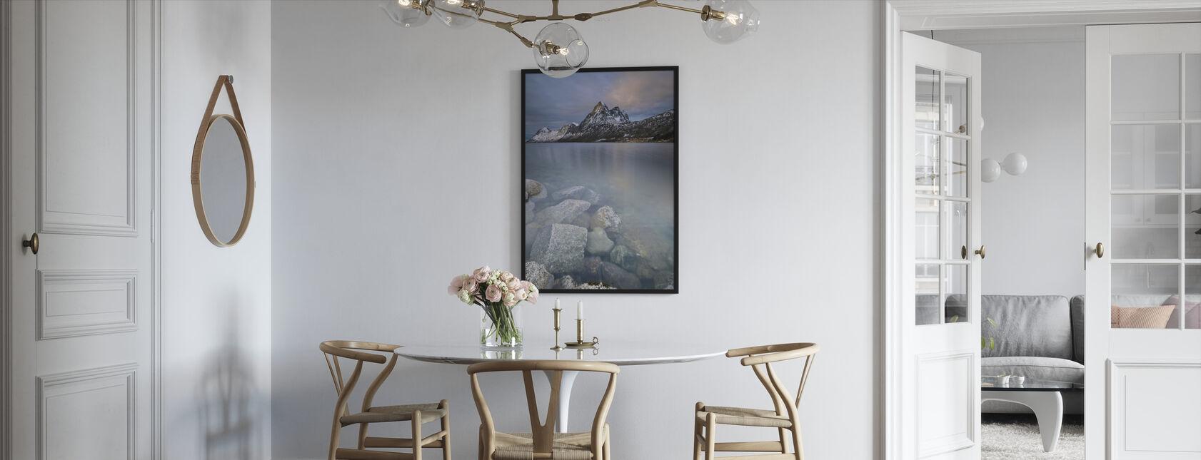 Senja-øya - Innrammet bilde - Kjøkken