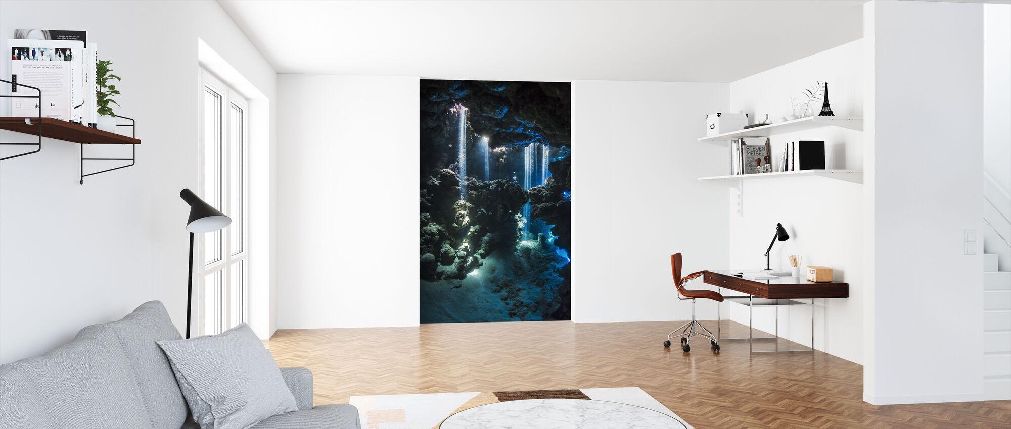 Shafts of Light - Wallpaper - Office