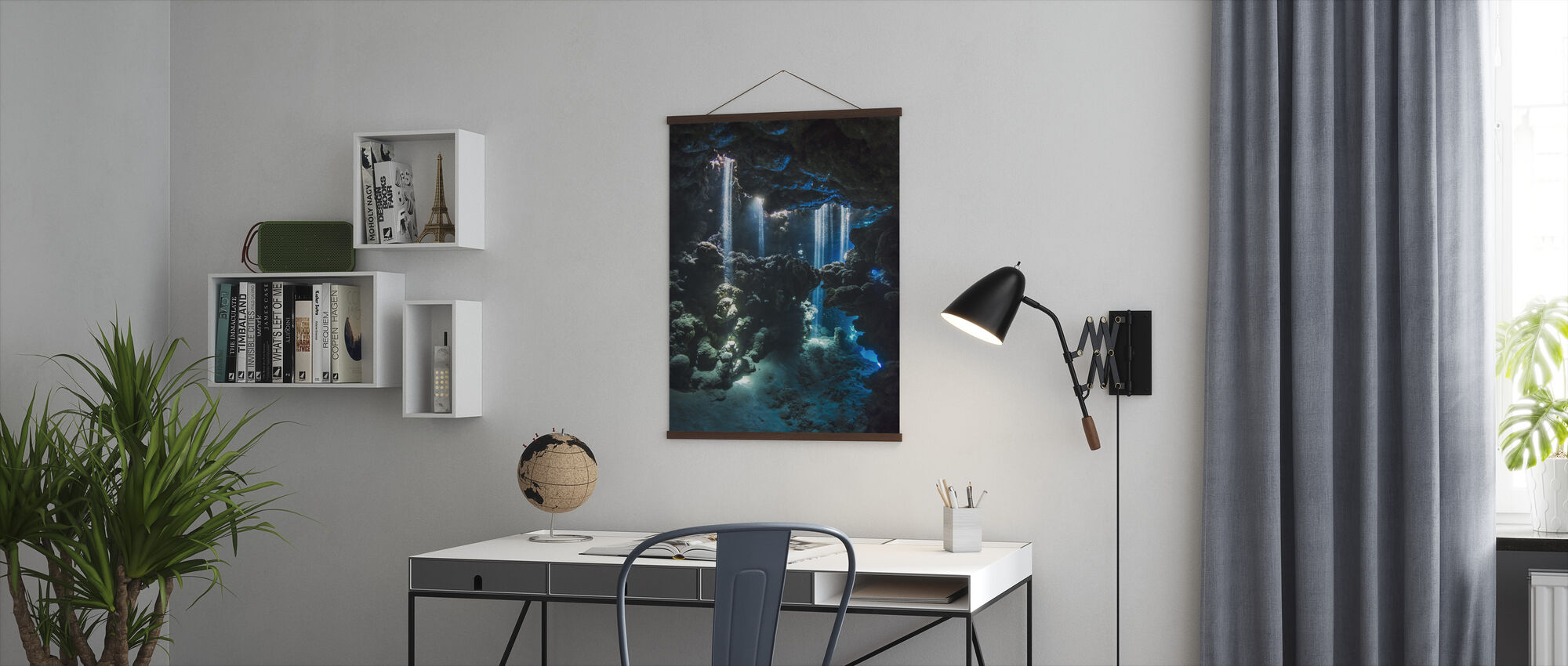 Shafts of Light - Poster - Office
