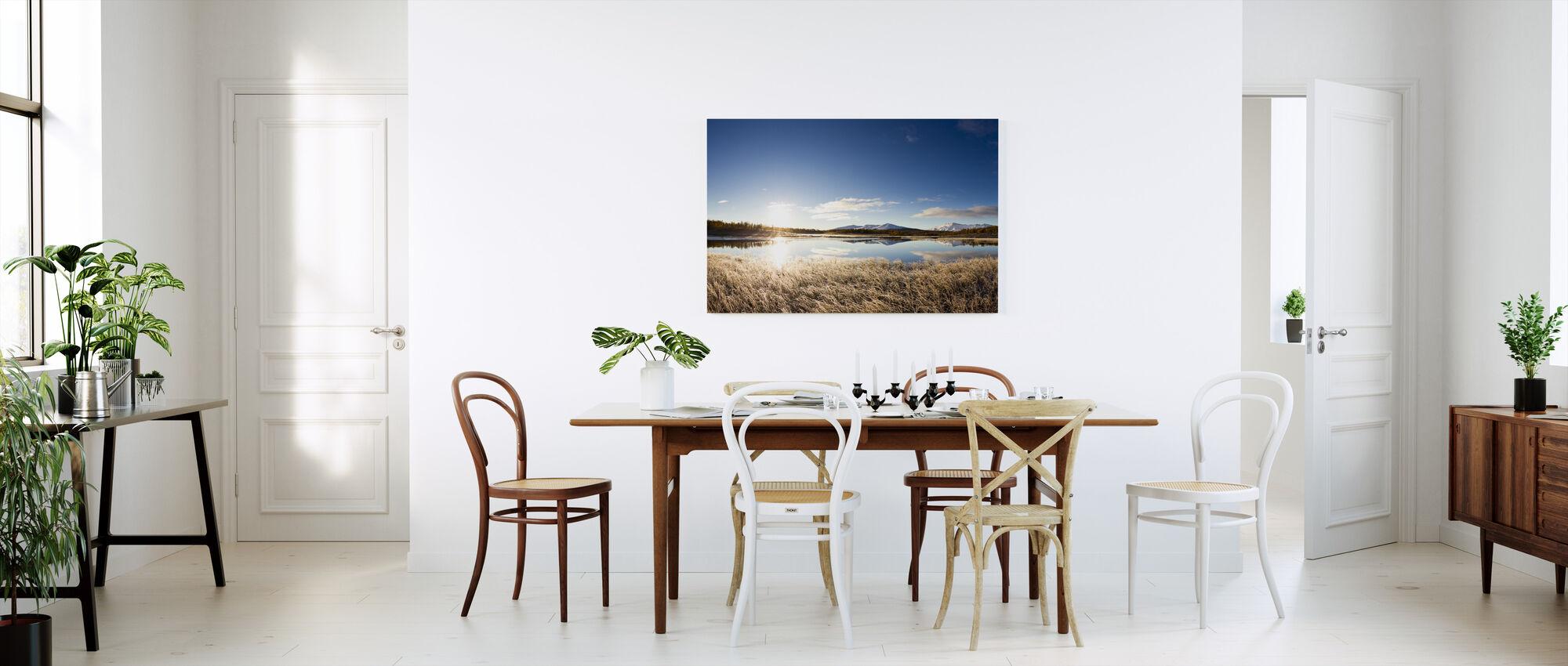 Norra svenskt landskap - Canvastavla - Kök