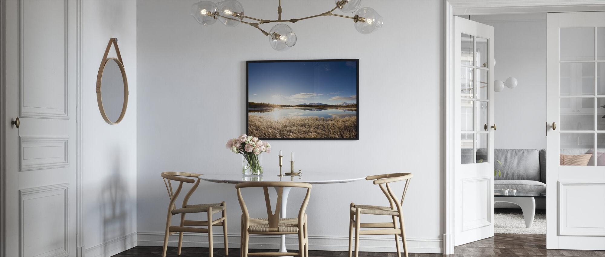 Northern Swedish Landscape - Framed print - Kitchen
