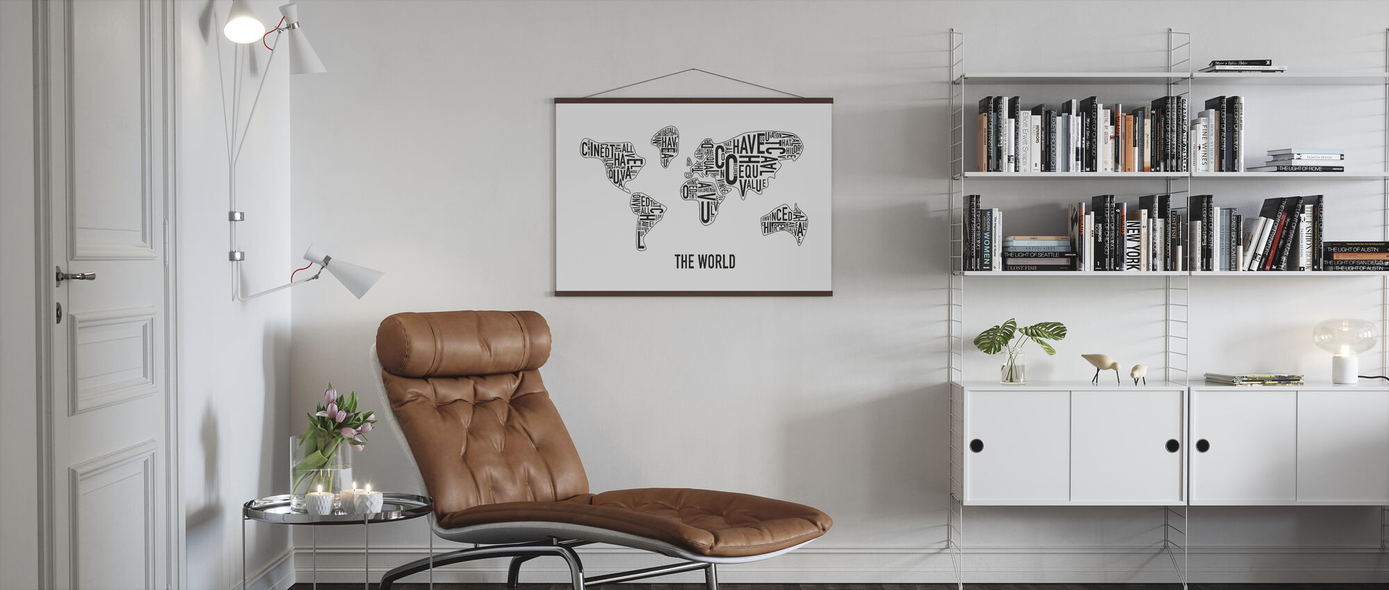 The World - Poster - Living Room
