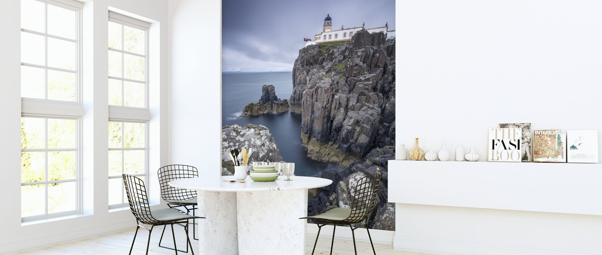 Lighthouse at Neist Point, Isle of Skye - Scotland - Wallpaper - Kitchen