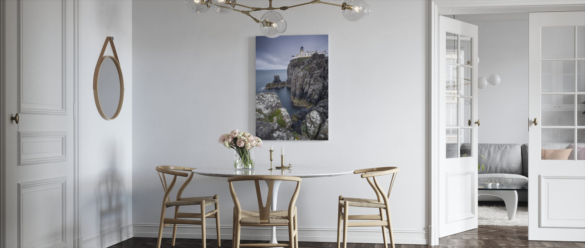 Lighthouse at Neist Point, Isle of Skye - Scotland - Canvas print - Kitchen