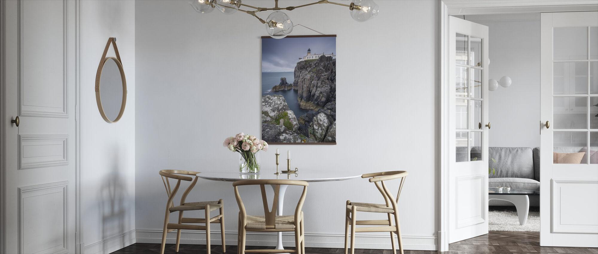 Lighthouse at Neist Point, Isle of Skye - Scotland - Poster - Kitchen