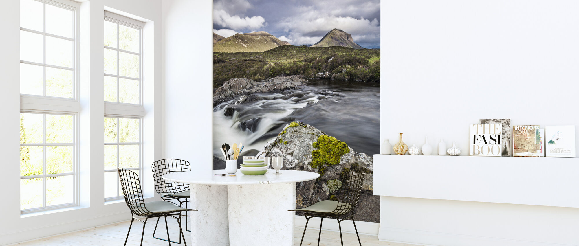 Beautiful Landscape, Isle of Skye - Scotland - Wallpaper - Kitchen
