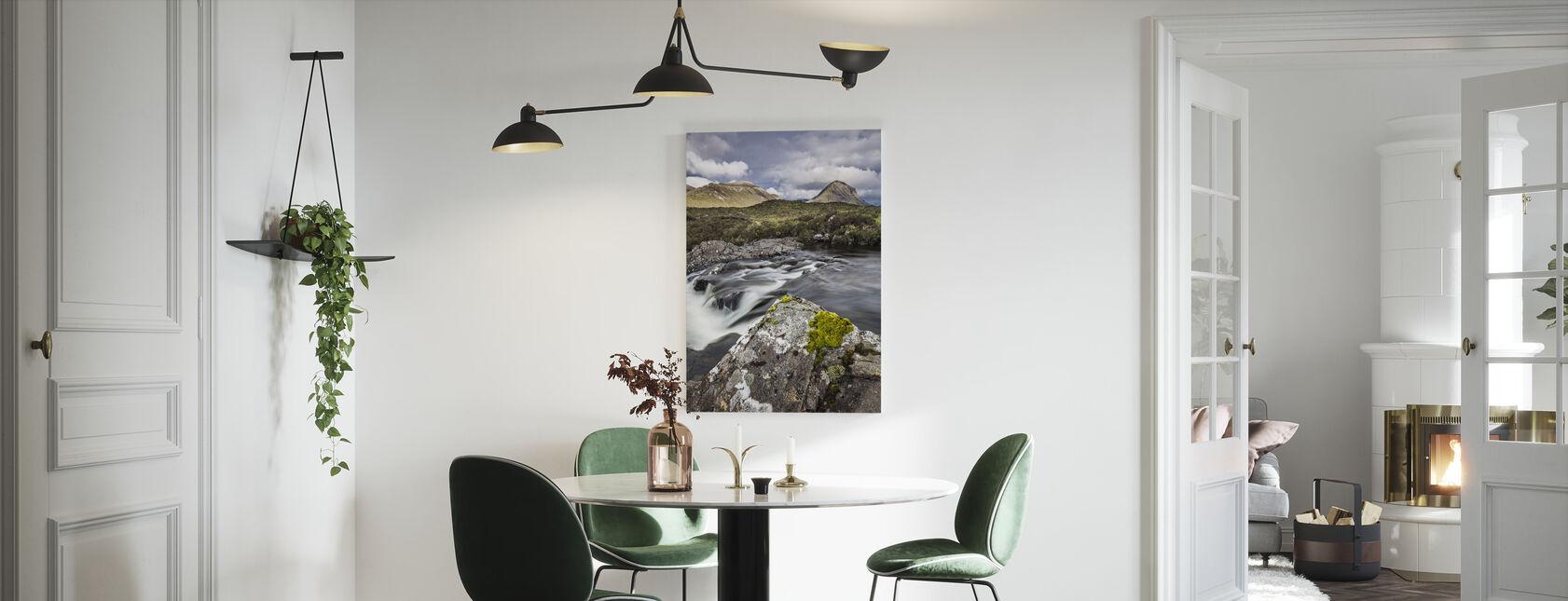 Vakkert landskap, Isle of Skye - Skottland - Lerretsbilde - Kjøkken