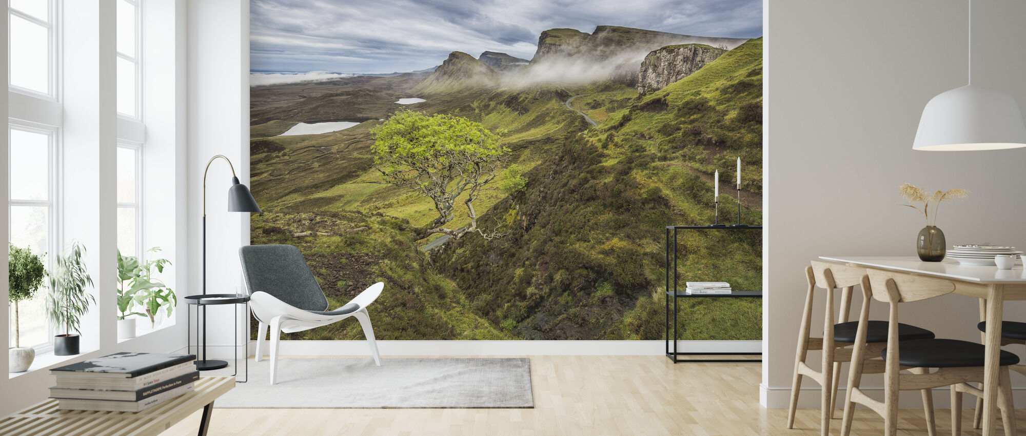 Quirang, Isle of Skye - Scotland - Wallpaper - Living Room