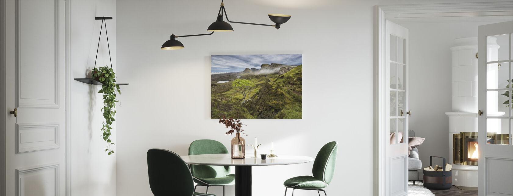 Quirang, Isle of Skye - Skottland - Canvastavla - Kök