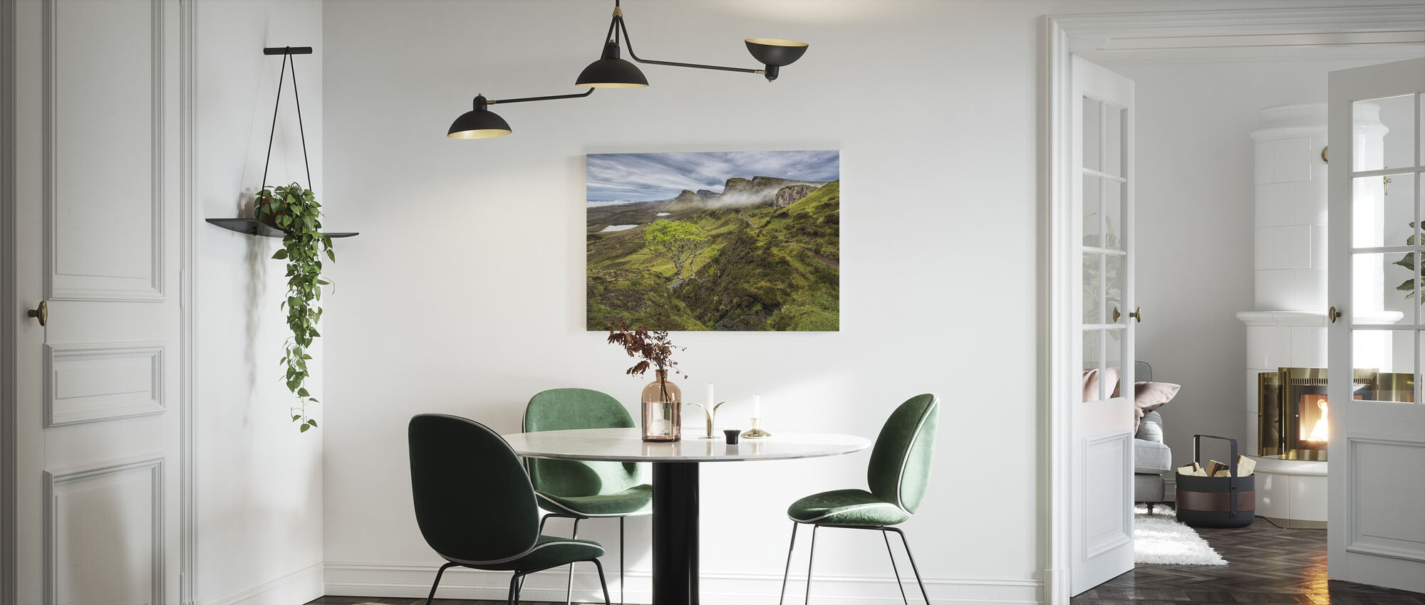 Quirang, Isle of Skye - Scotland - Canvas print - Kitchen
