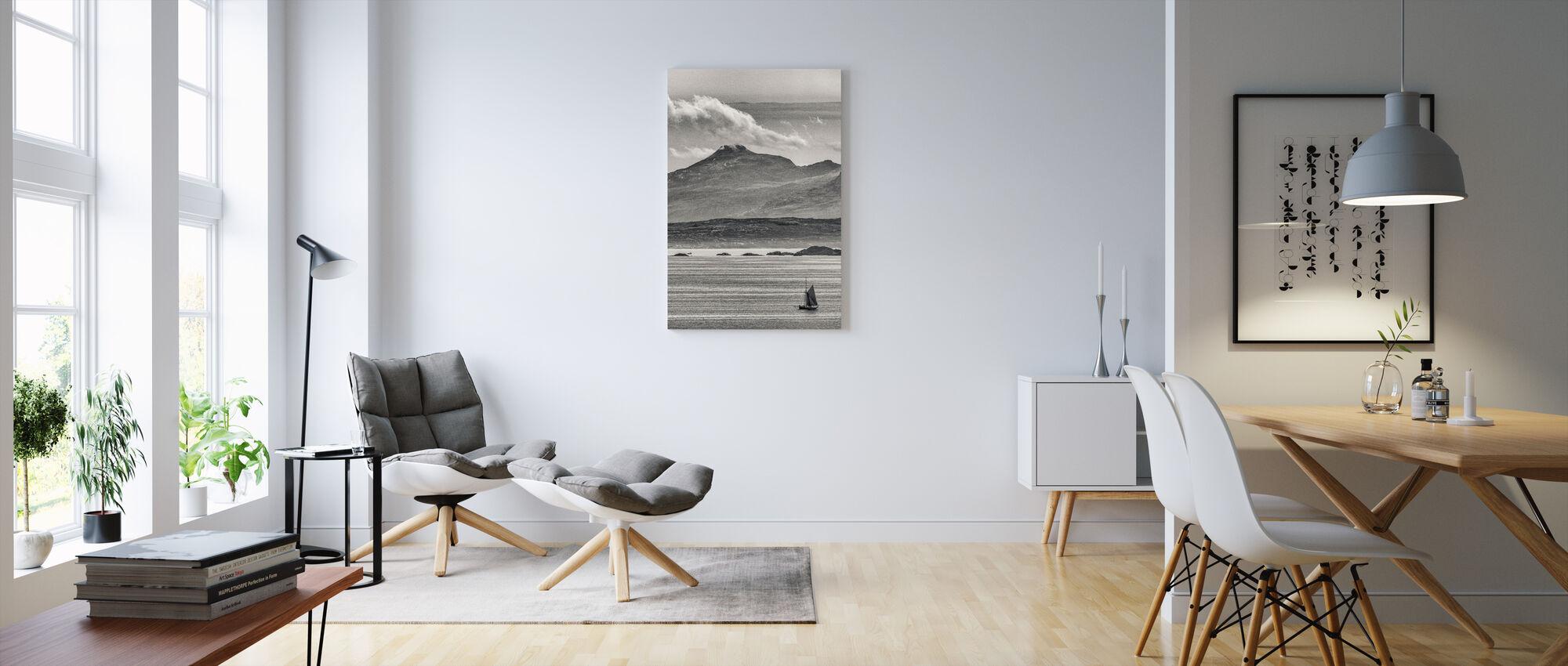 Kilt Rock, Isle of Skye - Skottland - Canvastavla - Vardagsrum