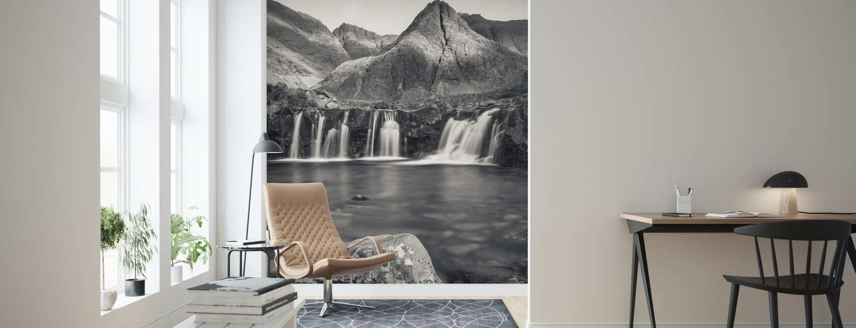 Fairy Pools, Isle of Skye - Scotland - Wallpaper - Living Room