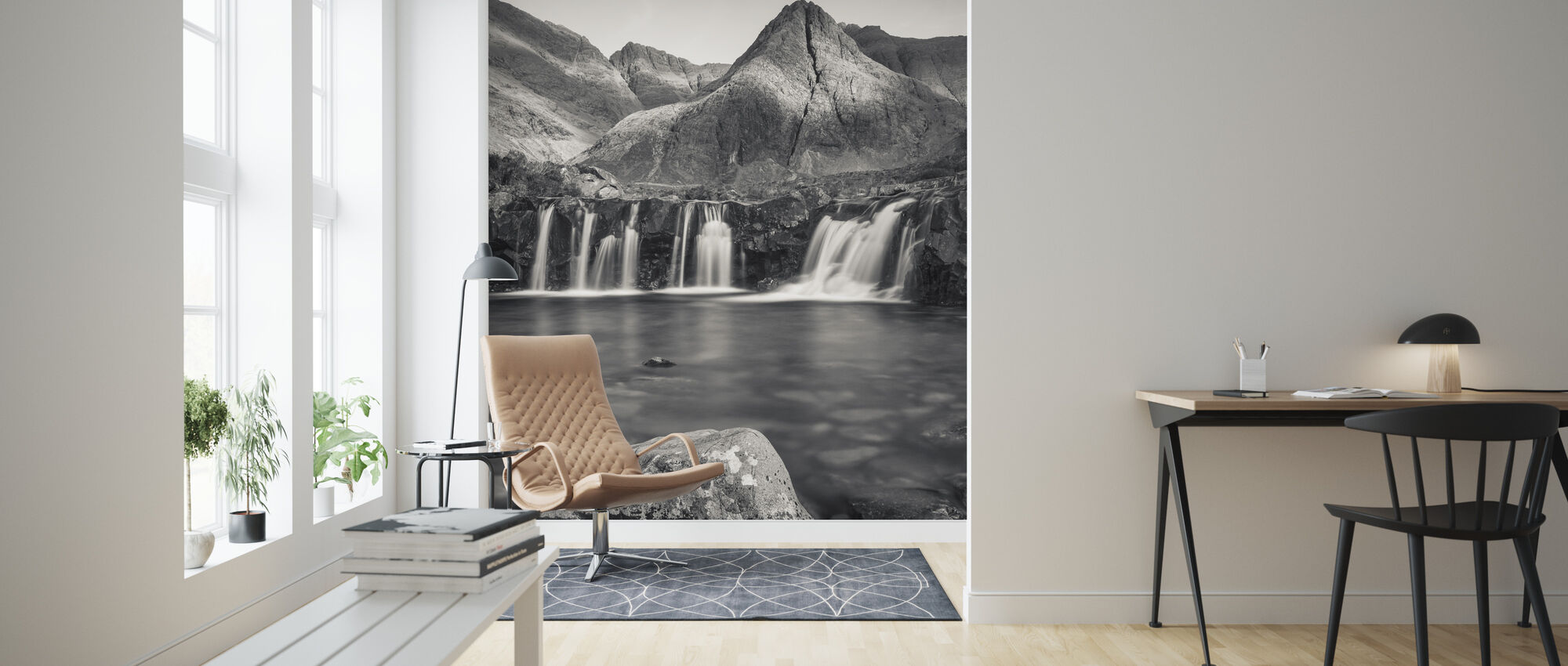 Fairy Pools, Isle of Skye - Scotland - Wallpaper - Living Room