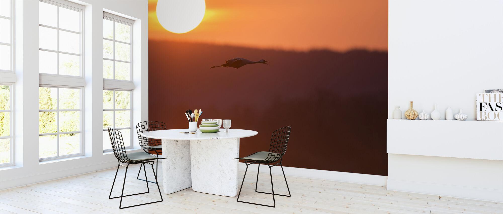 Sunrise at Horborga Lake - Sweden - Wallpaper - Kitchen
