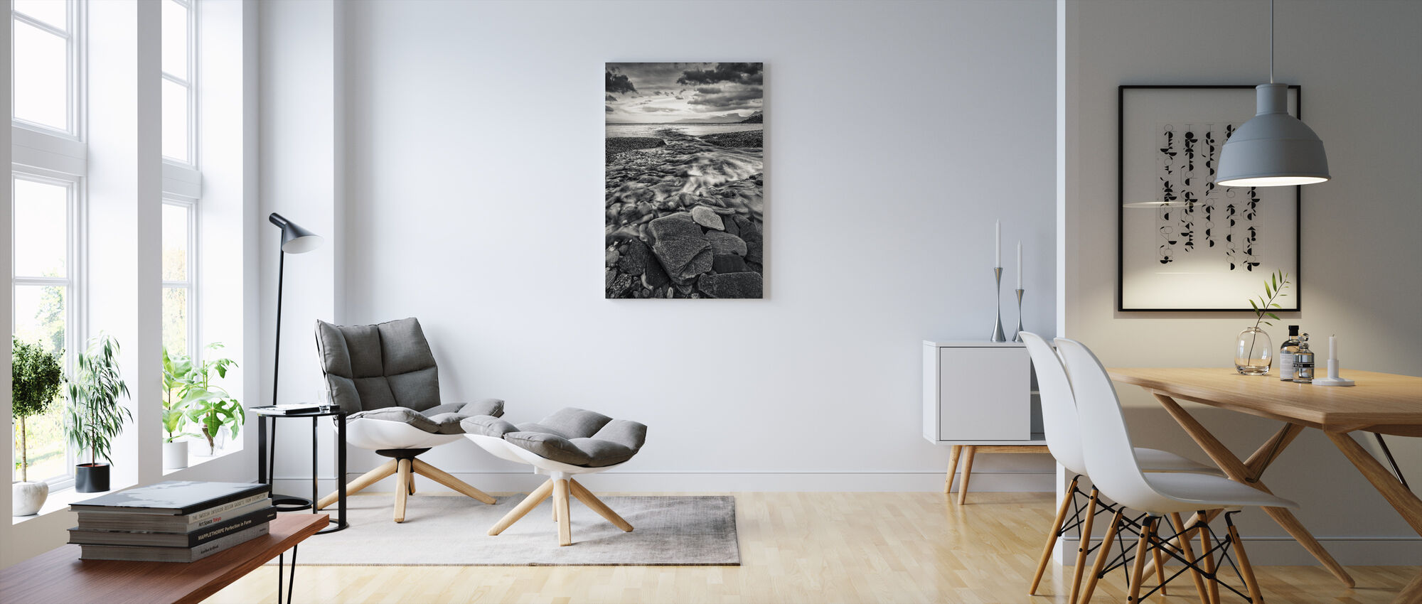 Torneträsk, Lappi - Ruotsi - Canvastaulu - Olohuone