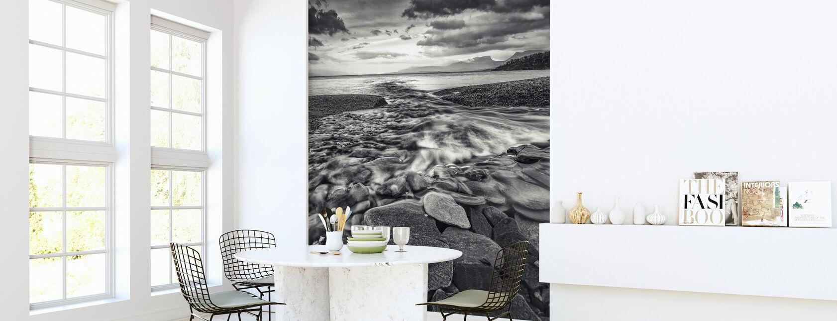 Torneträsk, Lapland - Sweden - Wallpaper - Kitchen