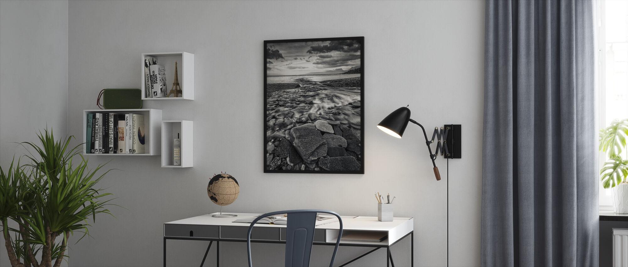 Torneträsk, Lapland - Sweden - Framed print - Office