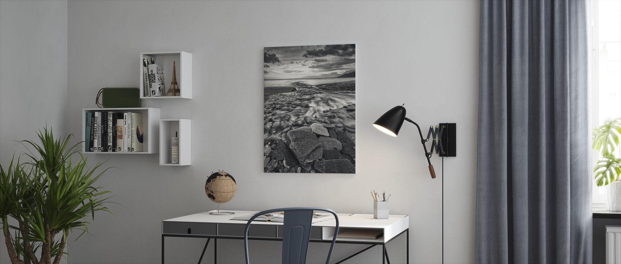 Torneträsk, Lappi - Ruotsi - Canvastaulu - Toimisto