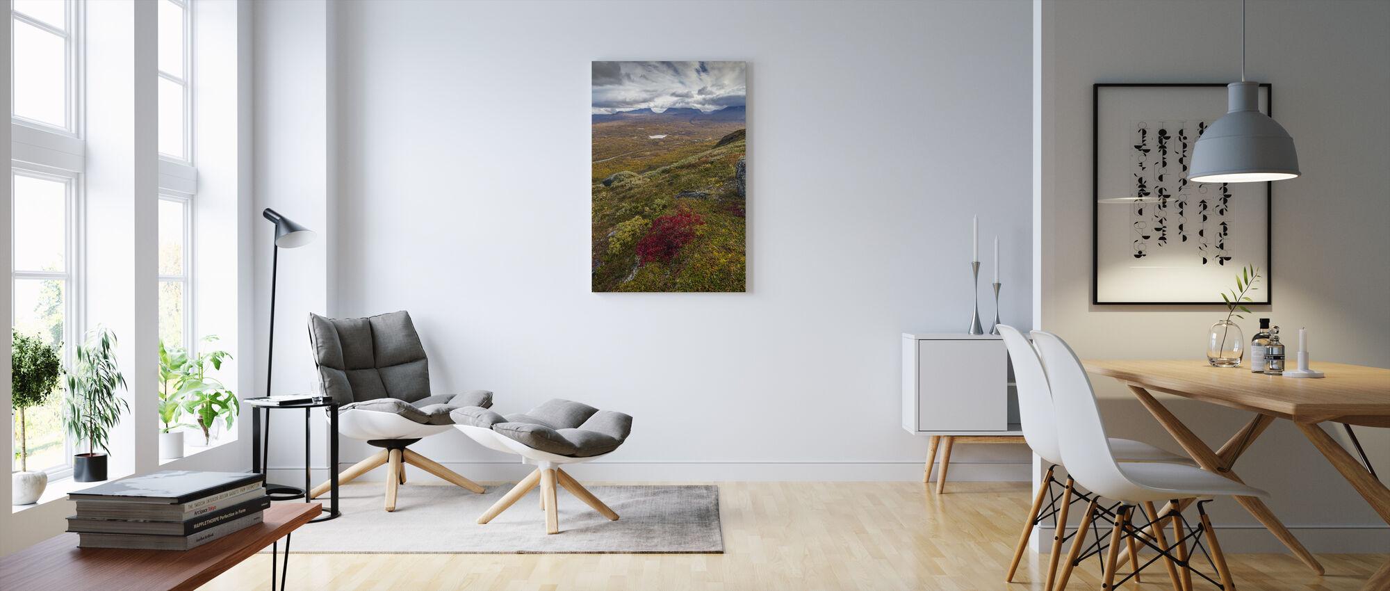 Nuolja Mountain, Abisko - Sweden - Billede på lærred - Stue