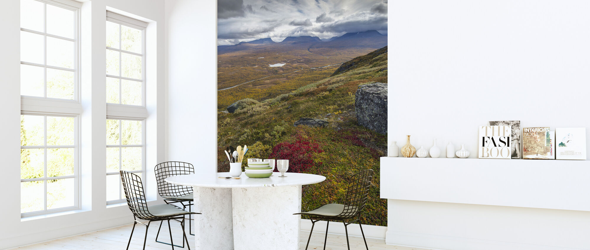 Nuolja Mountain, Abisko - Sweden - Wallpaper - Kitchen