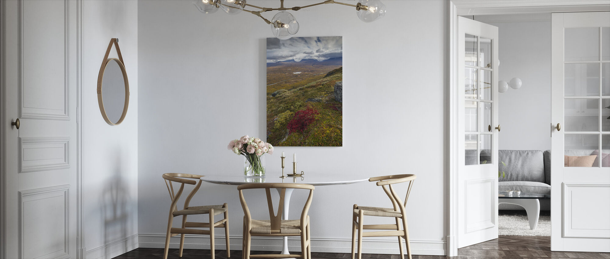 Nuolja Mountain, Abisko - Sweden - Canvas print - Kitchen