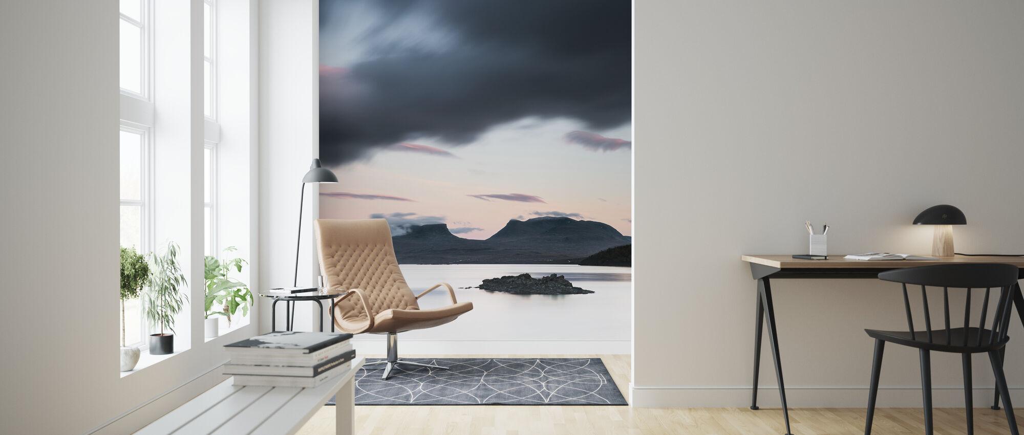 Lapporten & Torneträsk - Suecia - Papel pintado - Salón