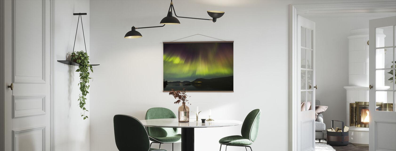 Northern Lights in Torneträsk - Sweden - Poster - Küchen
