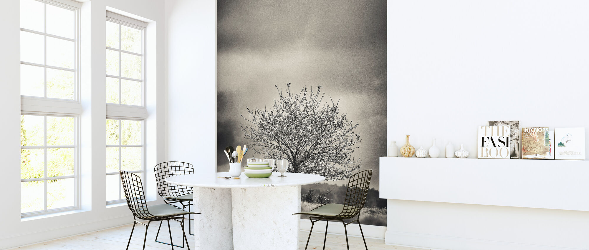 Boom in Halland - Zweden - Behang - Keuken