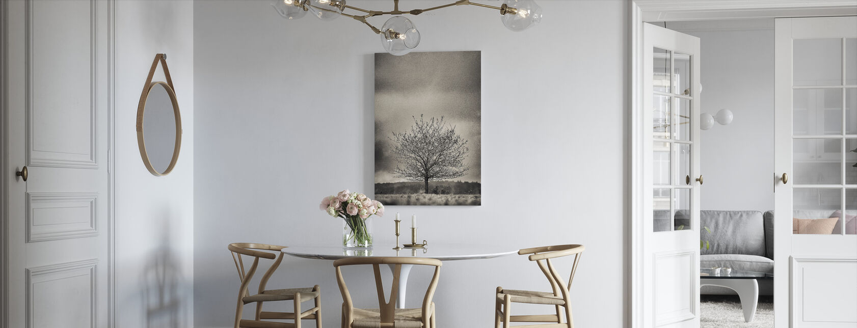 Tree in Halland - Sweden - Canvas print - Kitchen
