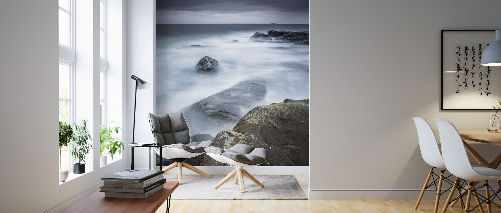Hummerviken, Gothenburg - Sweden - Wallpaper - Living Room
