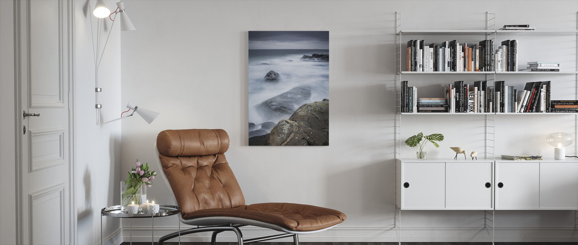 Hummerviken, Gothenburg - Sweden - Canvas print - Living Room