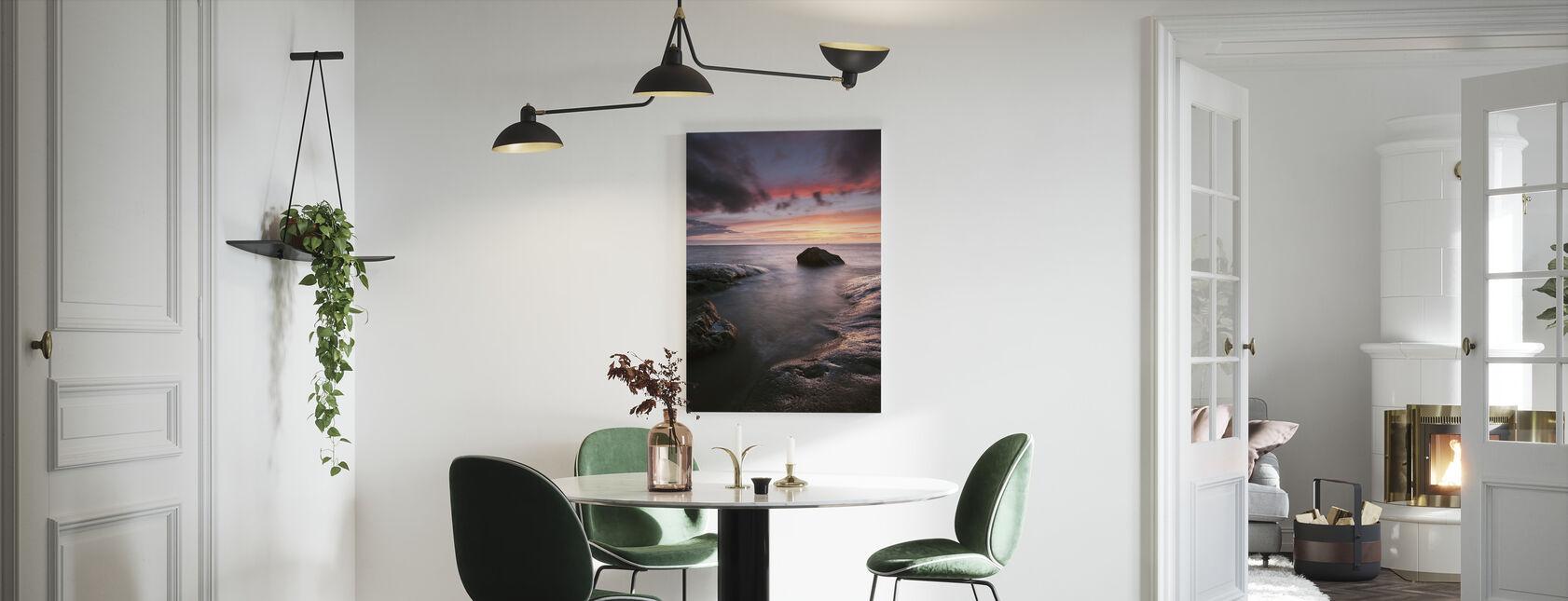 Sunset, Hönö - Sweden - Canvas print - Kitchen