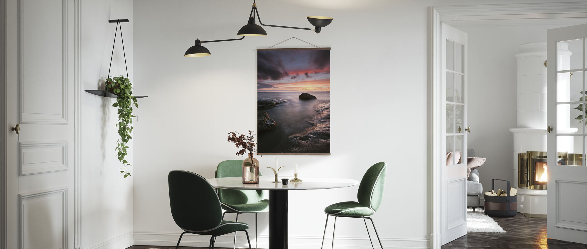 Sunset, Hönö - Sweden - Poster - Kitchen