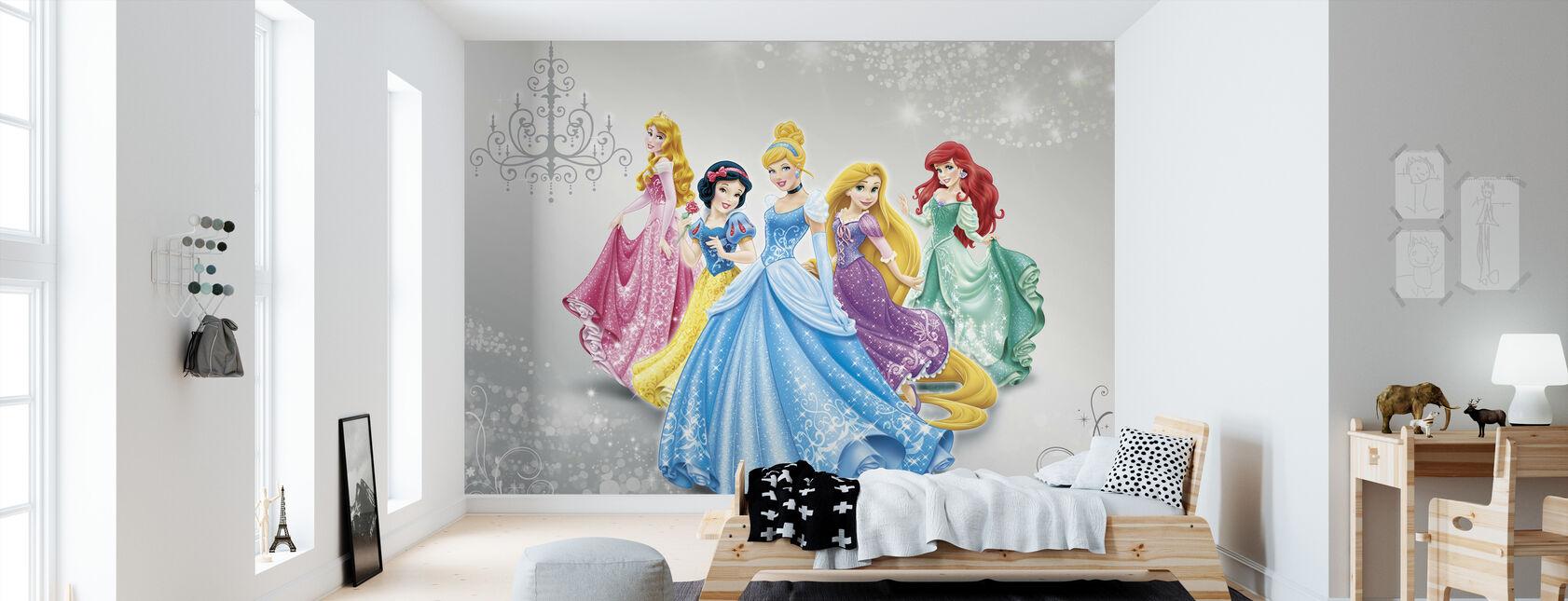 Disney Prinsesse - Tapet - Børneværelse