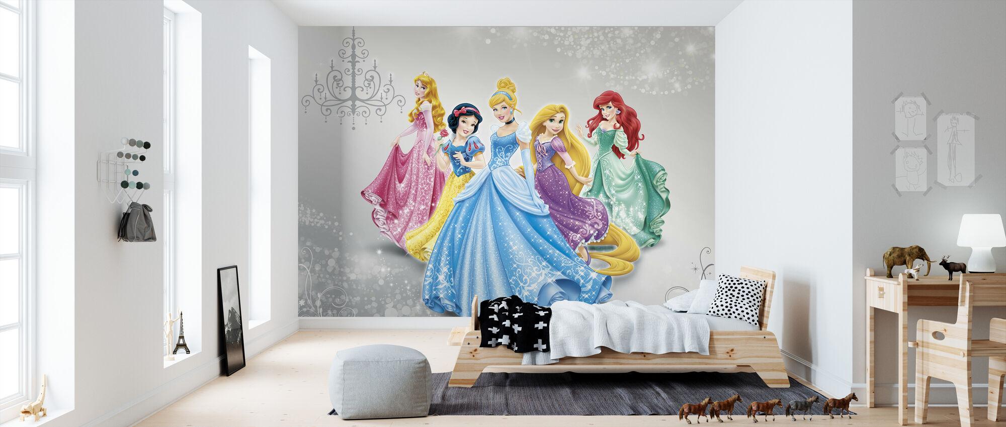 Disney prinsessa - Tapetti - Lastenhuone