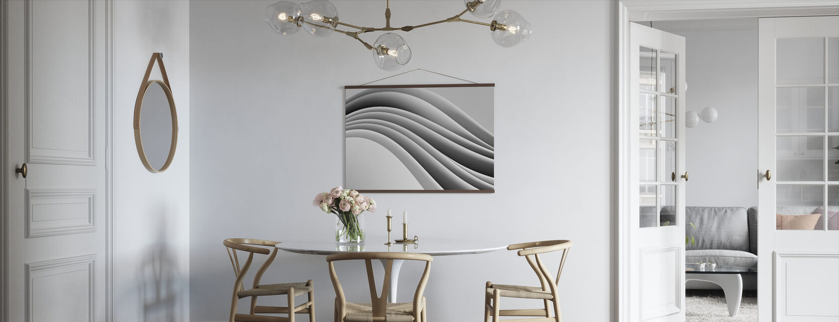 Flowing Paper - Poster - Kitchen