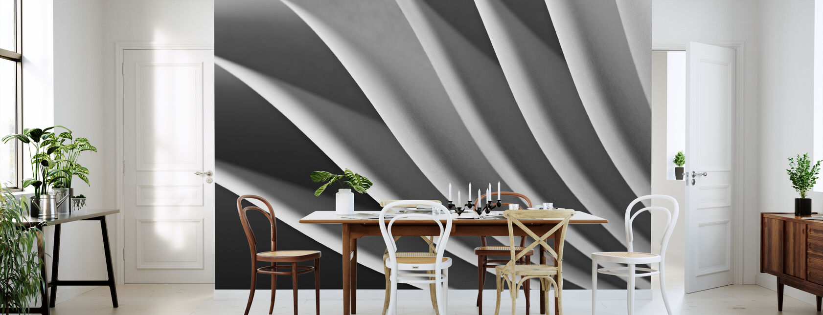 Paper Wave - Wallpaper - Kitchen