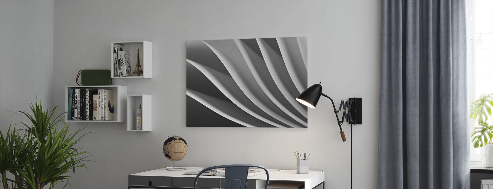 Papier Wave - Canvas print - Kantoor