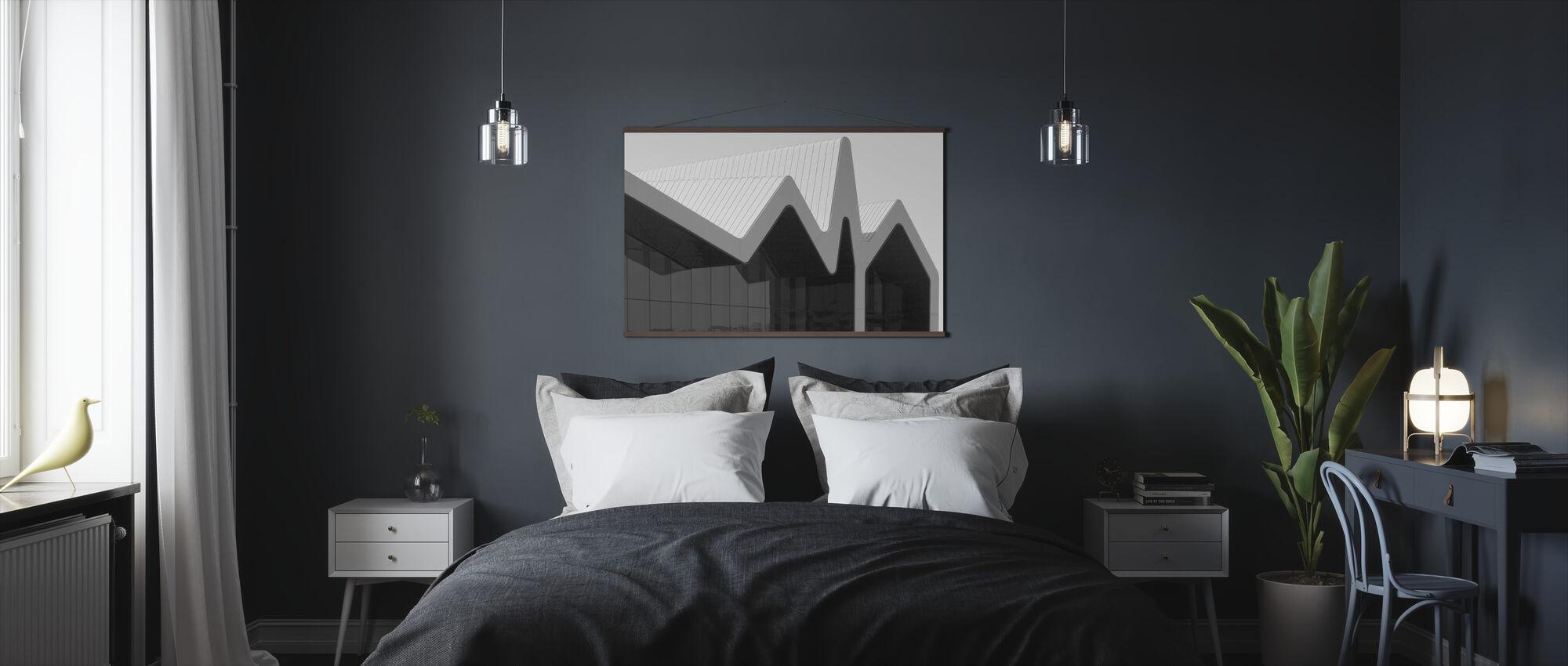 Glasgow Riverside Museum - Poster - Bedroom
