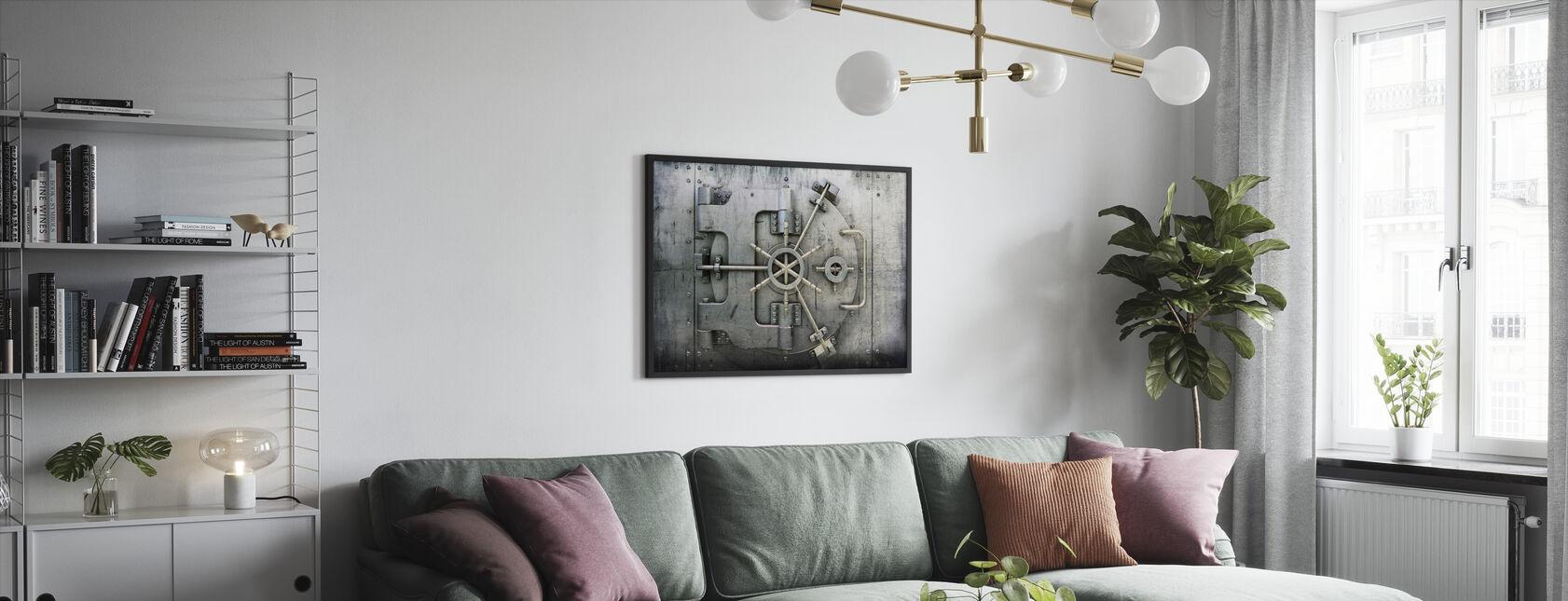 Vault - Framed print - Living Room