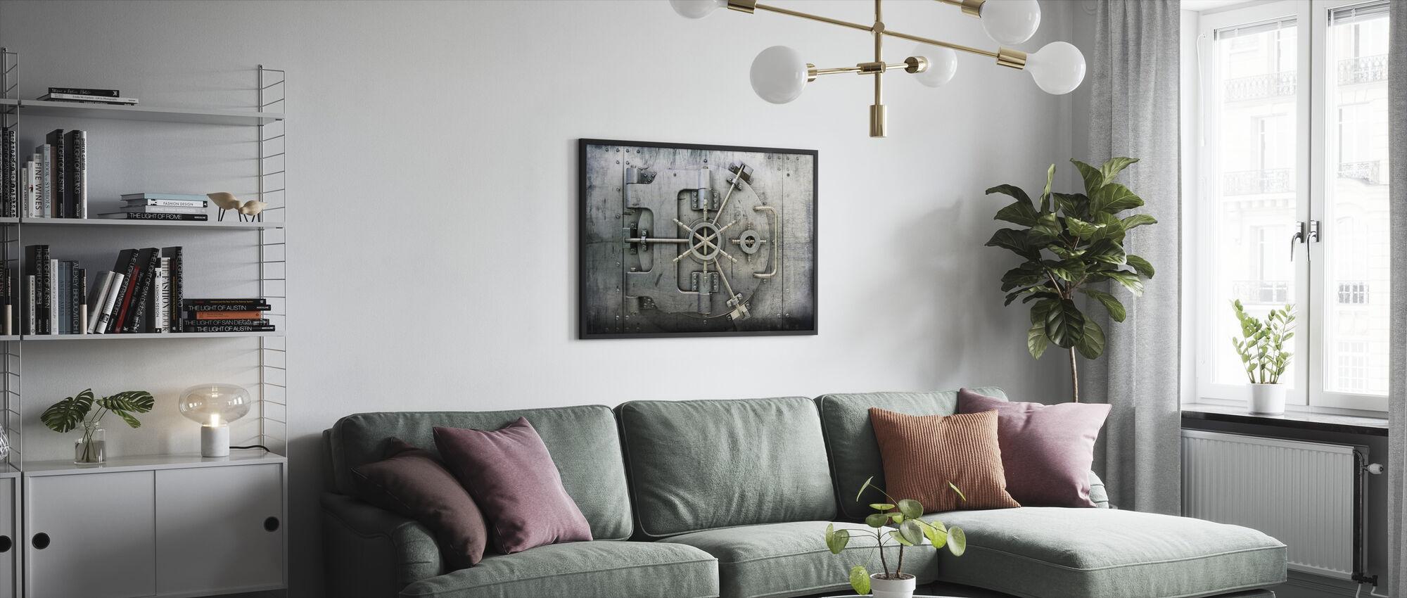 Kluis - Ingelijste print - Woonkamer