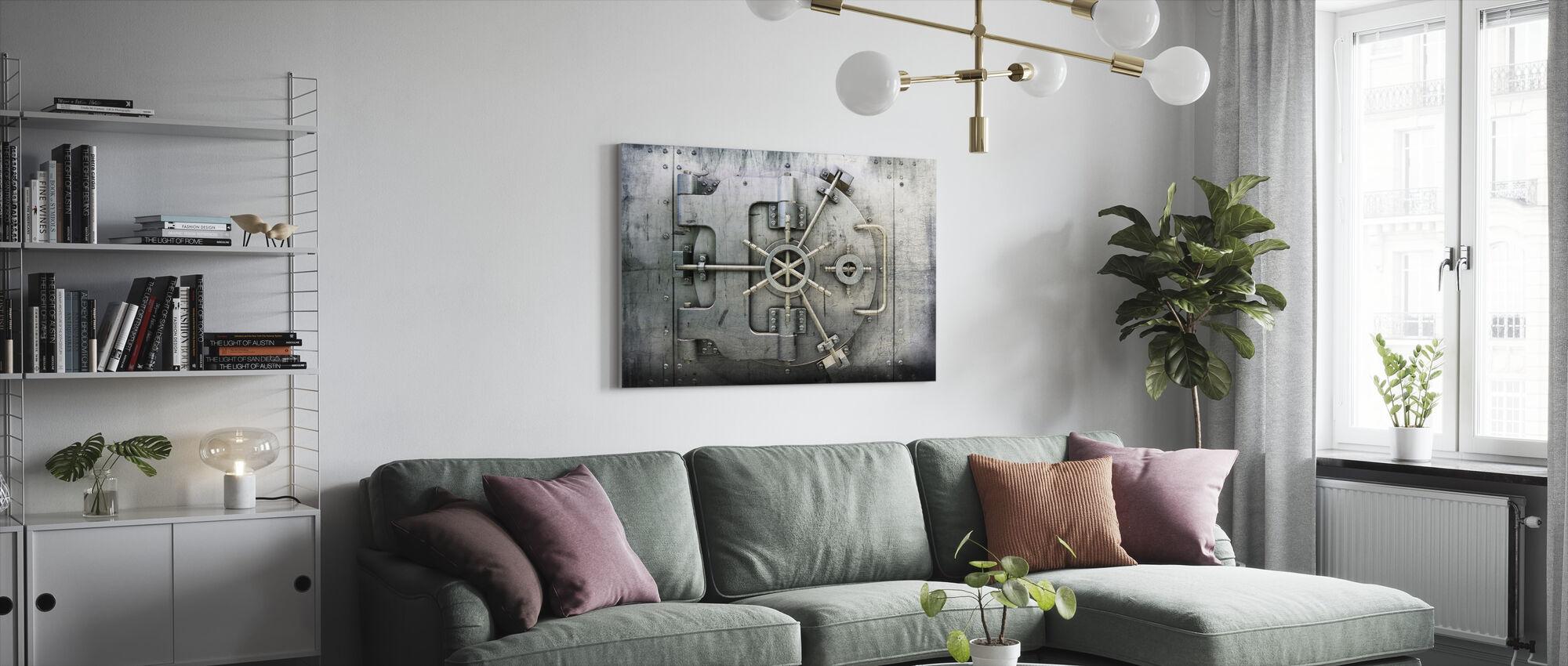 Vault - Canvas print - Living Room