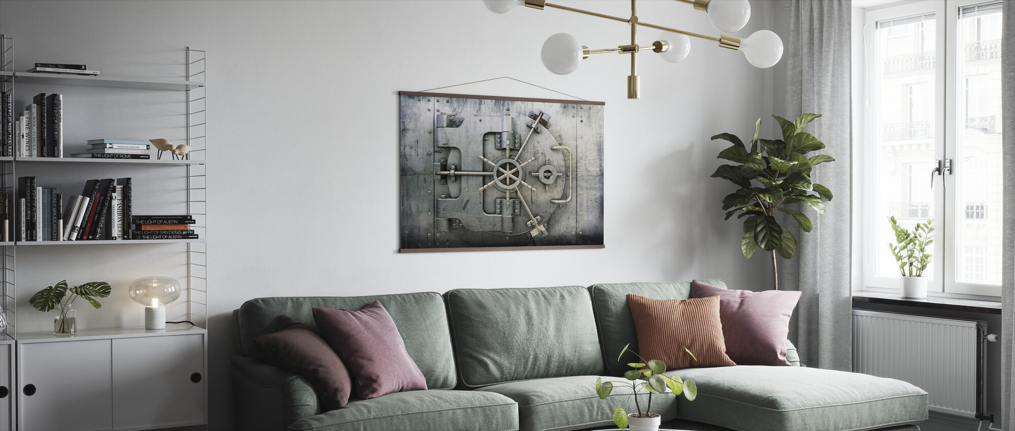 Vault - Poster - Living Room